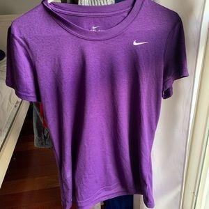 Purple nike t-shirt